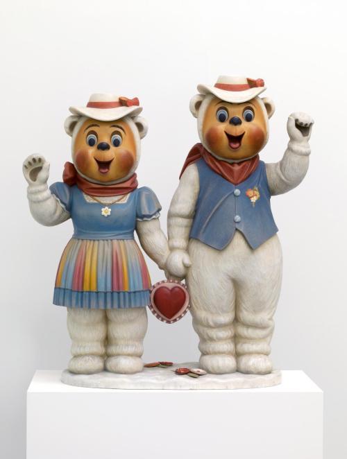 Winter Bears 1988 by Jeff Koons born 1955